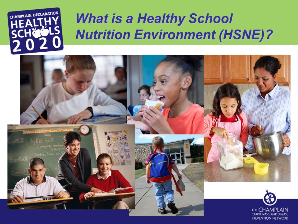 What is a Healthy School Nutrition Environment (HSNE)?