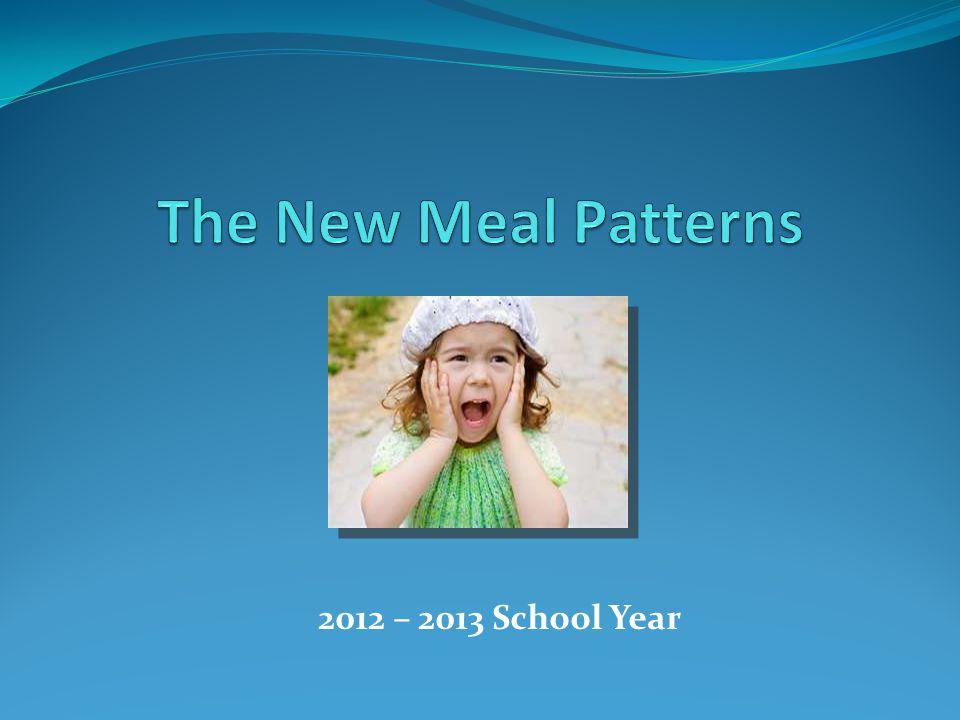 2012 – 2013 School Year