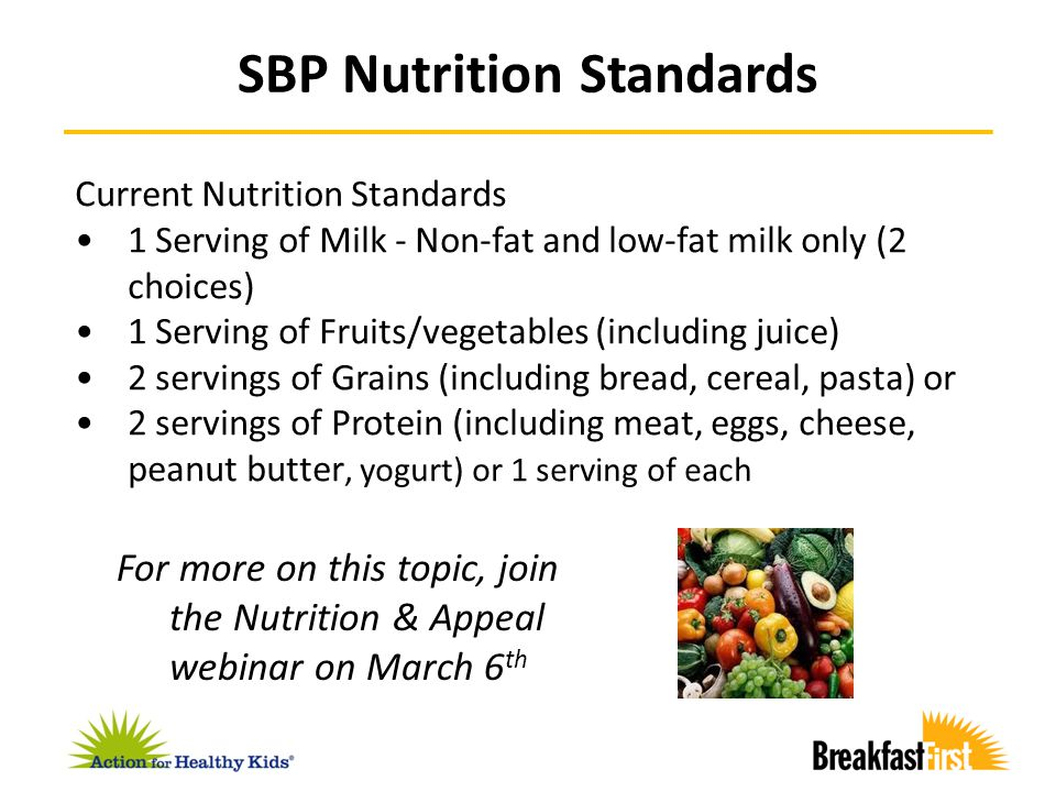 Assess the status of school breakfast in your community – Service models used – Current level of participation – Level of need (i.e.