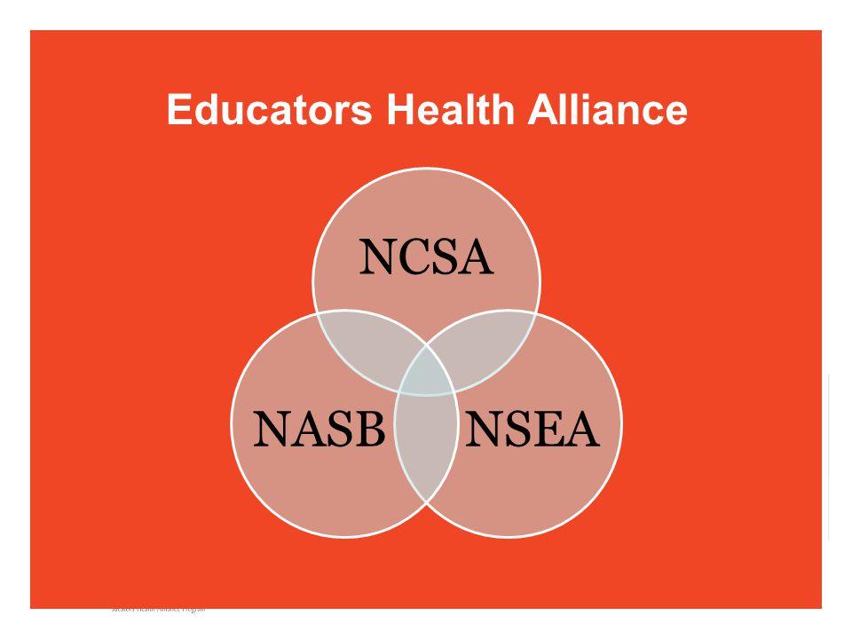 Educators Health Alliance NCSA NSEANASB
