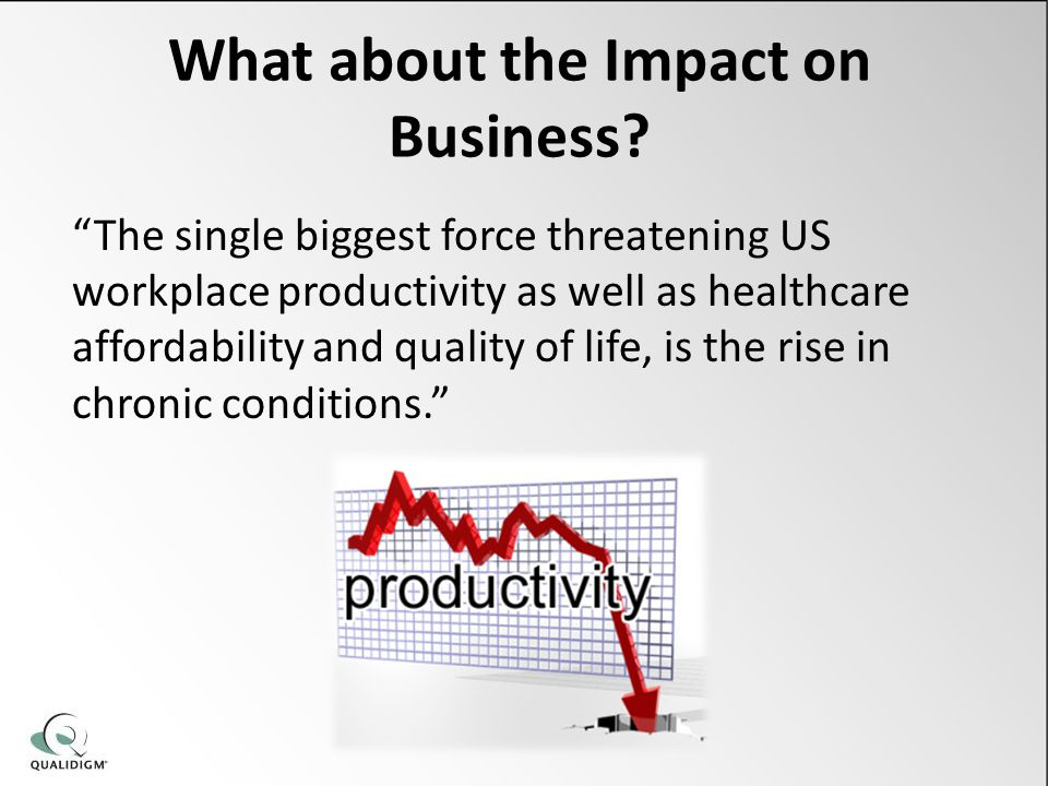 What about the Impact on Business.