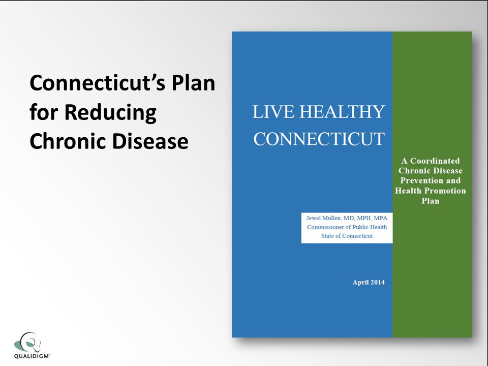 Connecticut's Plan for Reducing Chronic Disease