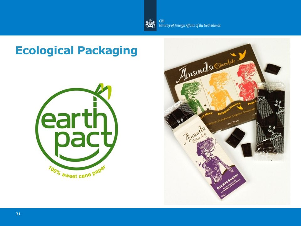 Ecological Packaging 31