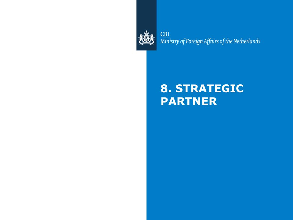 8. STRATEGIC PARTNER
