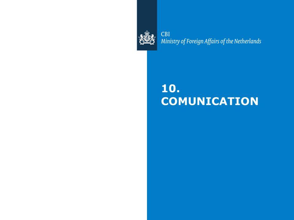 10. COMUNICATION