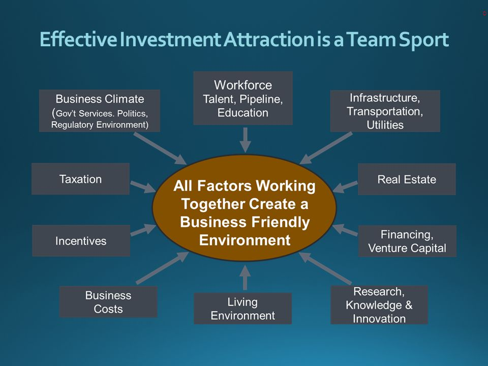 Effective Investment Attraction is a Team Sport D