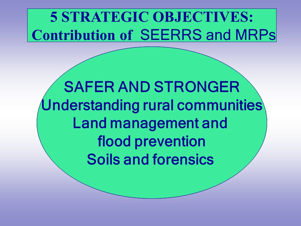 Safer and Stronger – help local communities to flourish, becoming stronger, safer places to live, offering improved opportunities and a better quality of life.