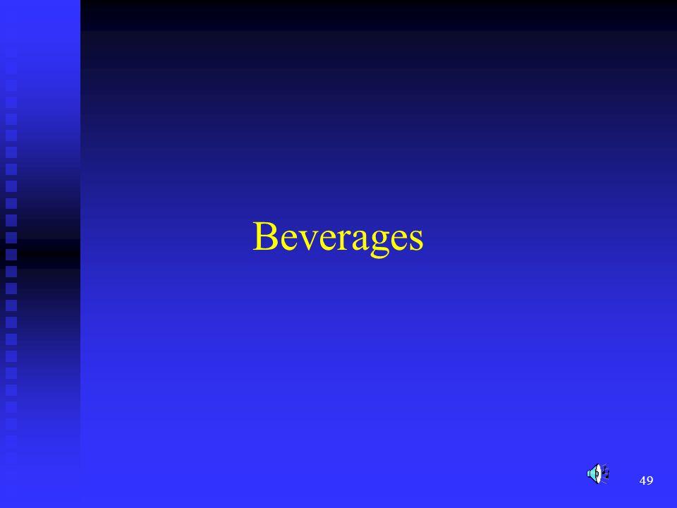 49 Beverages