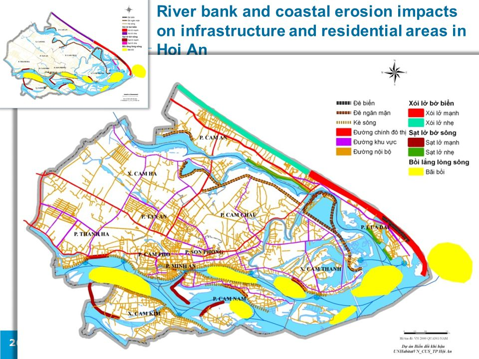 River bank and coastal erosion impacts on infrastructure and residential areas in Hoi An 26
