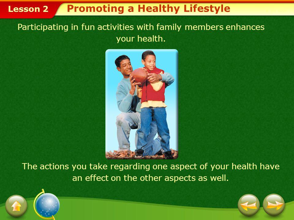 Lesson 2 Environmental Influences Physical EnvironmentSocial EnvironmentCulture Influences on Your Health