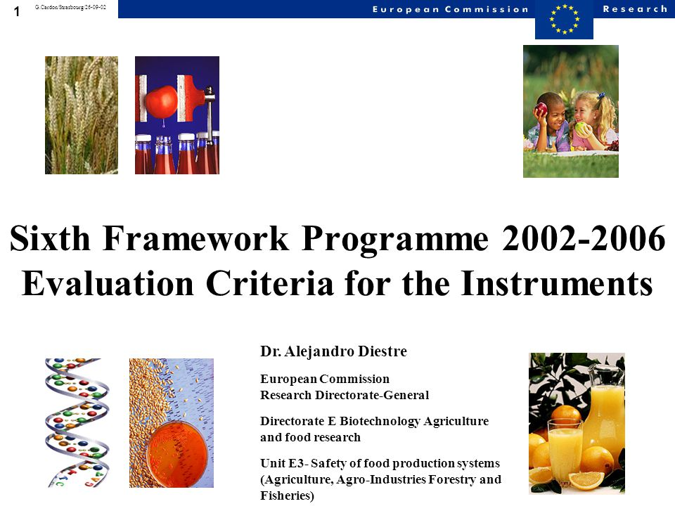 22 G.Cardon/Strasbourg/26-09-02 CRITERION AND DESCRIPTION I T P W N T E W Quality ofthe consortium Theextenttowhich:  the participantscollectivelyconstitute a consortium of highquality.