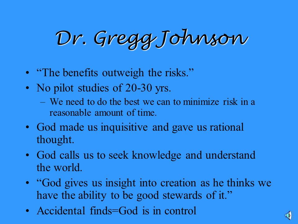 Dr. Gregg Johnson Dr.