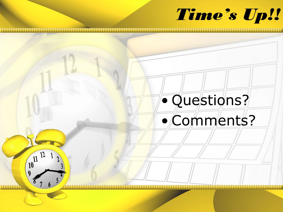 Resources 10 quick tips for time management http://stress.about.com/cs/timemanagement/a/aa041601.htm Why we over-commit http://stress.about.com/od/timemanagement/a/overcommit.htm Time Tips http://www.getmoredone.com/tips.html Time management by Covey http://www.imt.net/~randolfi/time.html#Top%20of%20page http://pds.hccfl.edu/pds/index.htm
