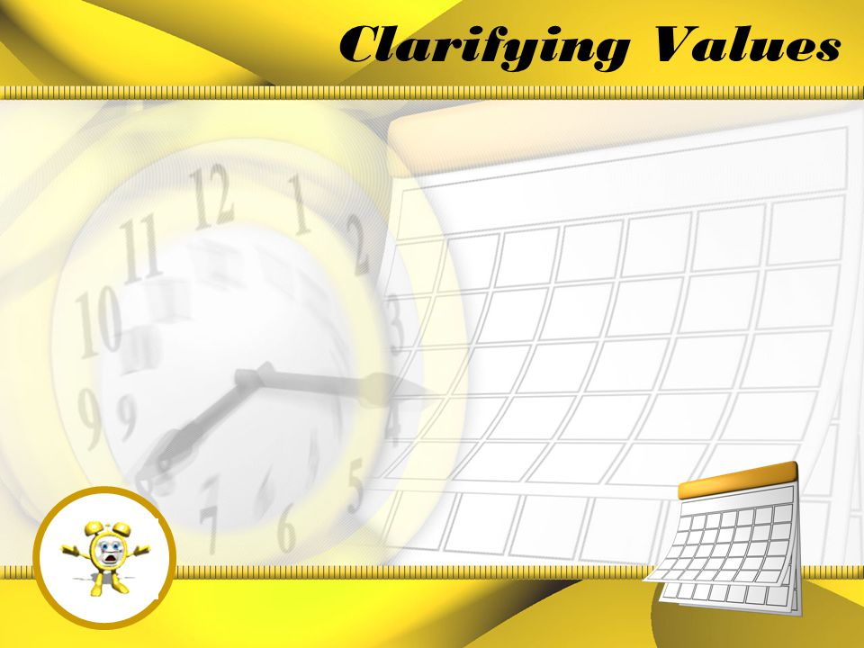 Introduction In this presentation, you will learn a variety of strategies to improve your time management, and focus your time and energy on activities that you value.