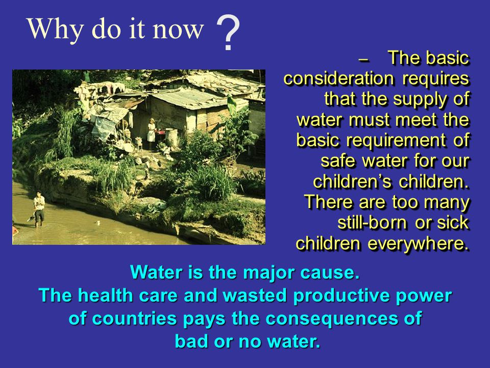 COMMUNITY WATER TREATMENT Kills all pathogens Significantly reduces levels of Heavy metals & hydrocarbons Contrary to other treatments, ozone leaves n