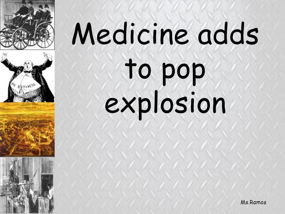 Ms.Ramos Medicine adds to pop explosion