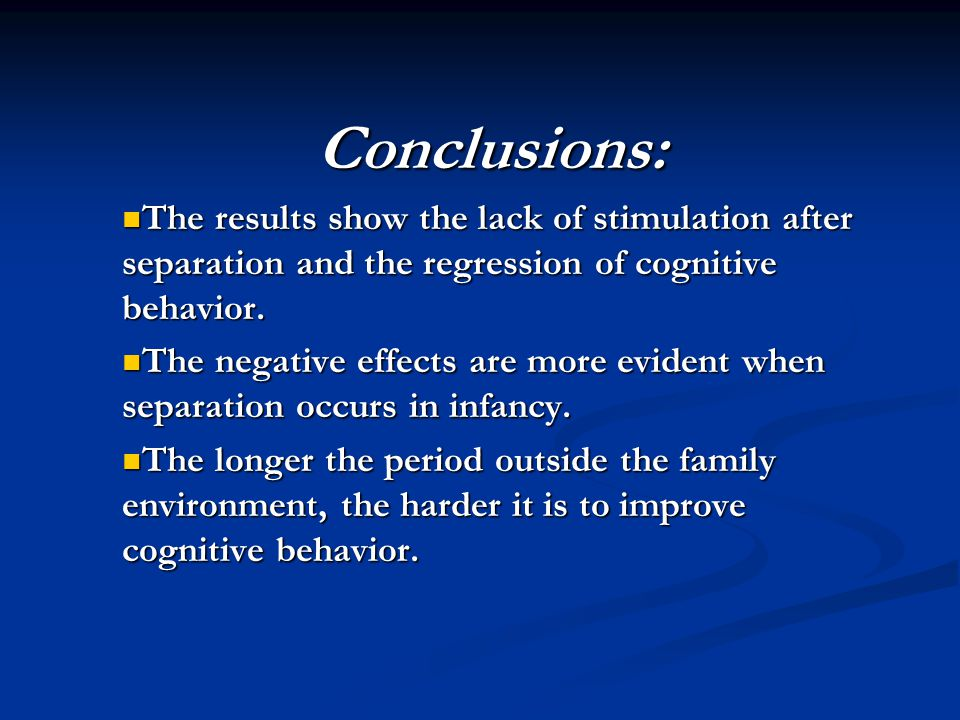 Reducing children's cognitive behavior problems means focusing on strategies to improve parenting.
