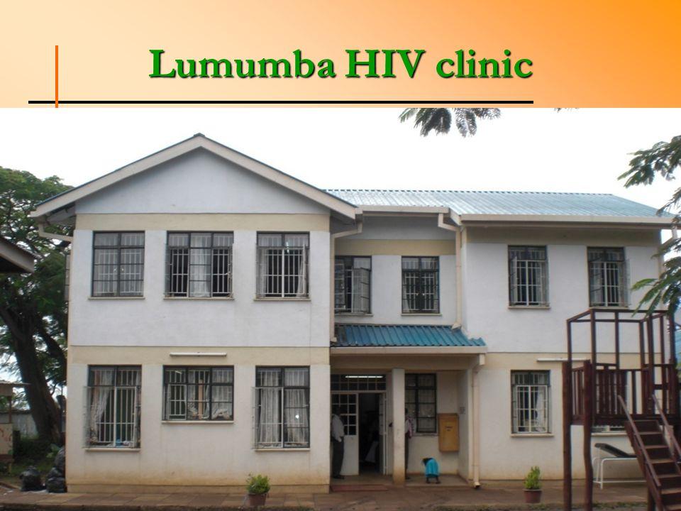 Lumumba HIV clinic