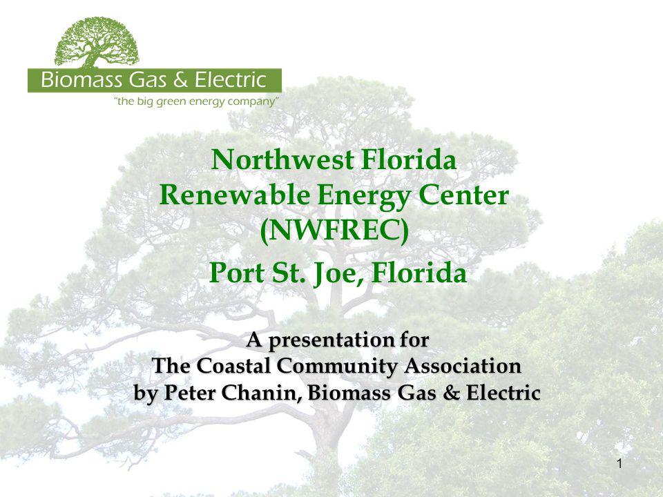 1 Northwest Florida Renewable Energy Center (NWFREC) Port St.