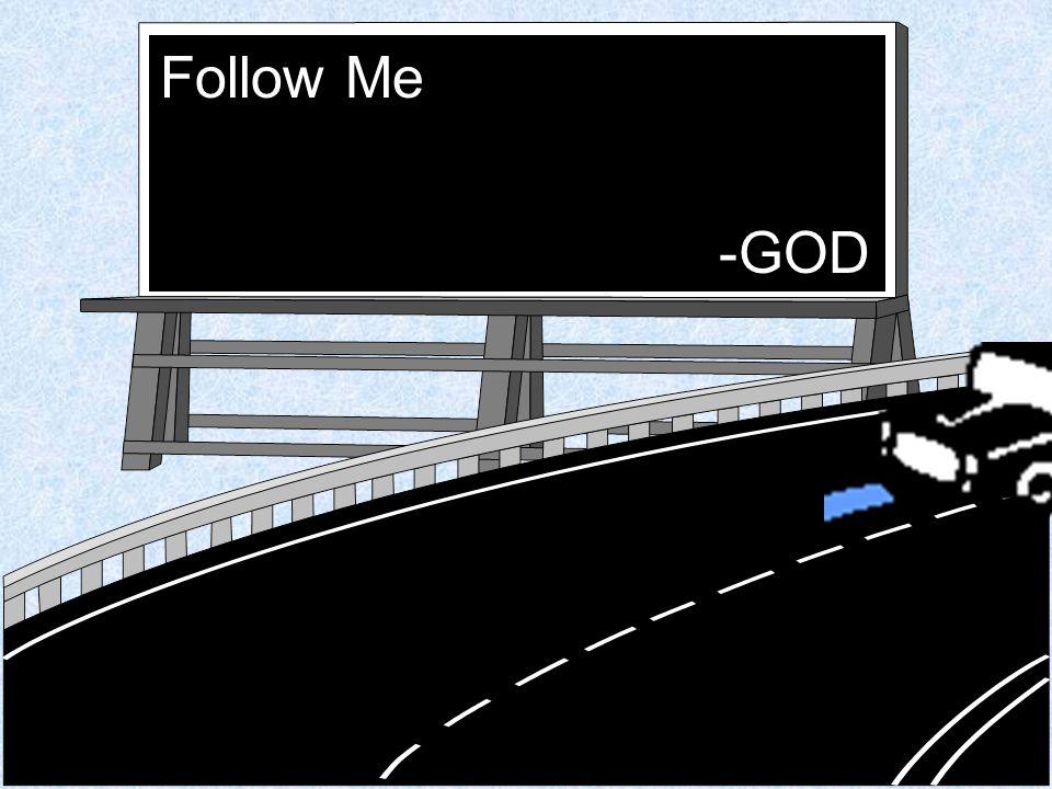 Follow Me -GOD