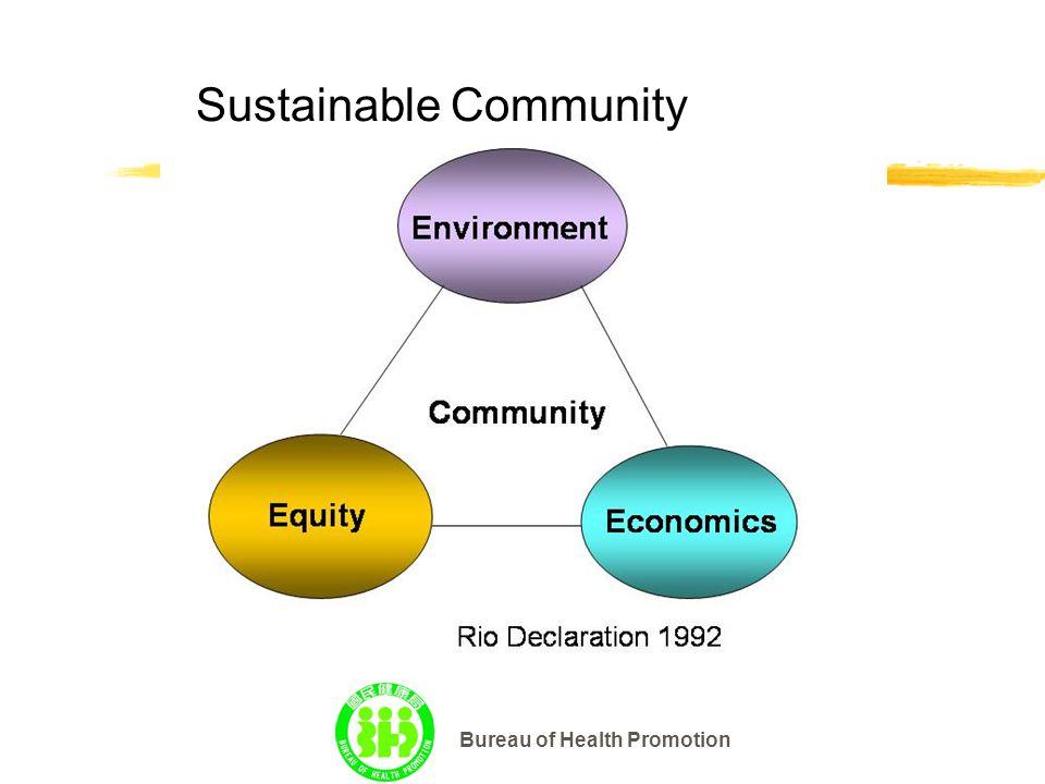 Bureau of Health Promotion Sustainable Community