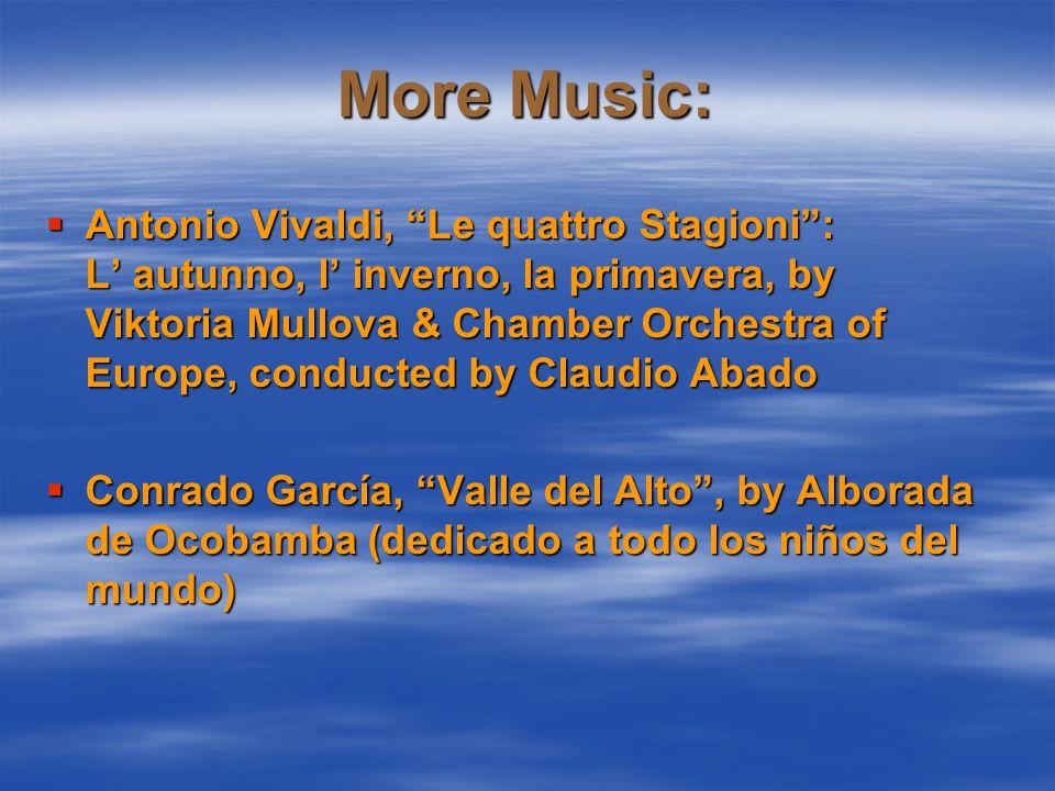 Music featured:  Niccoló Paganini, Violin Concerto No.
