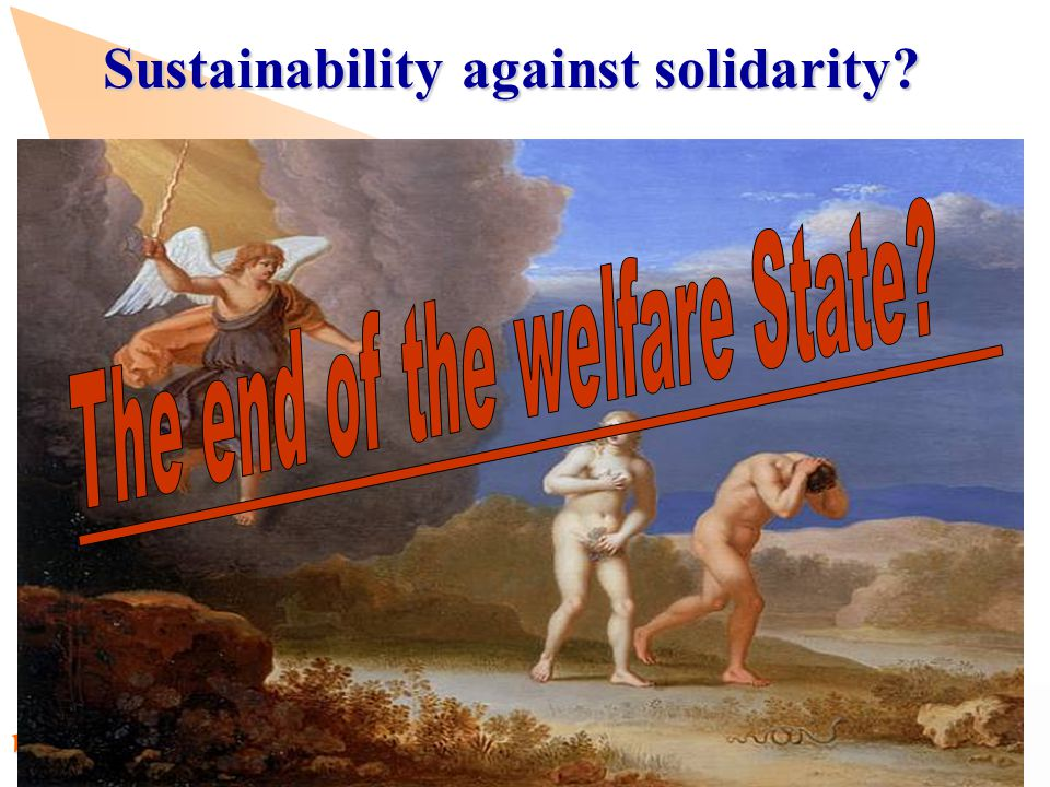 www.observatory.dk Sustainability against solidarity