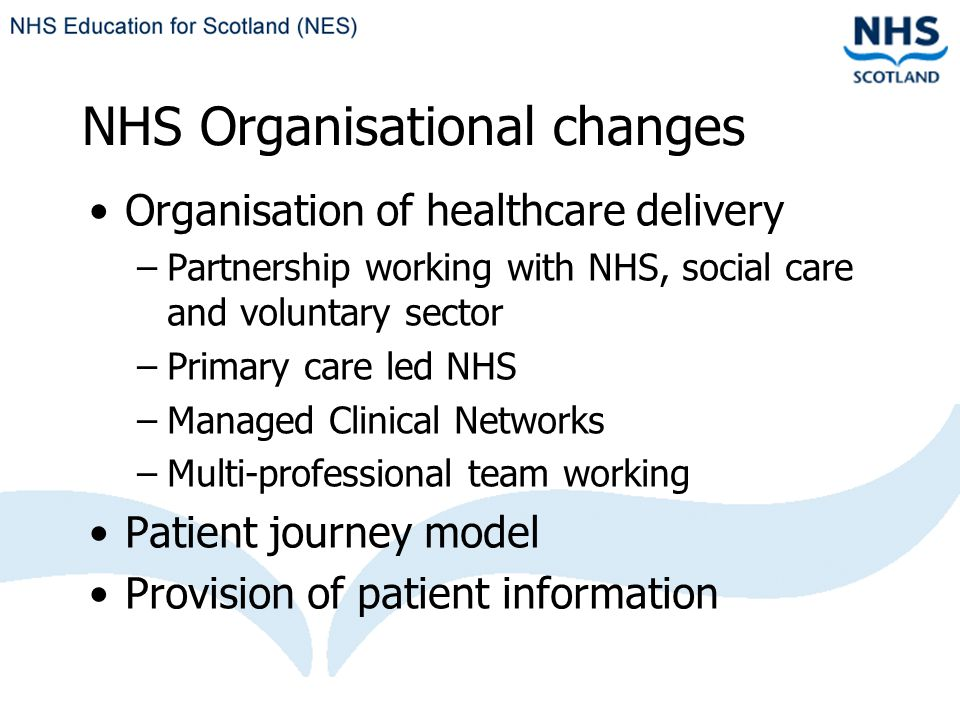 IT Developments Improved access to IT within NHS settings NHS Scotland e-Library http://www.elib.scot.nhs.uk Electronic access to national and local subscription resources Single Athens login to access services and subscription resources from any computer