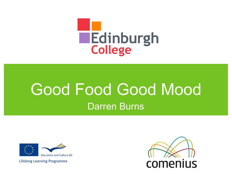 Good Food Good Mood Darren Burns