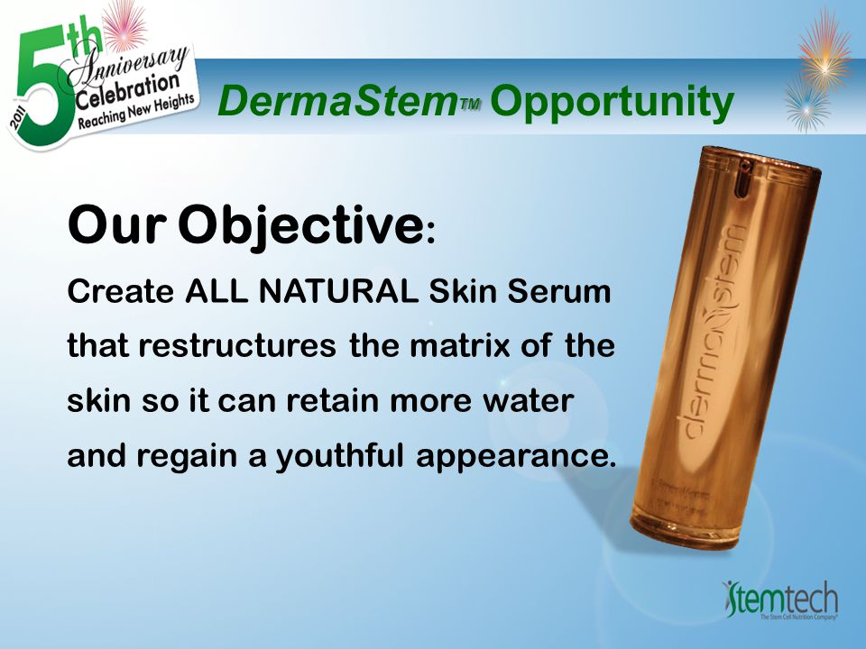 Independent Lab Report Clinical Trial on DermaStem TM The Results are Astounding!