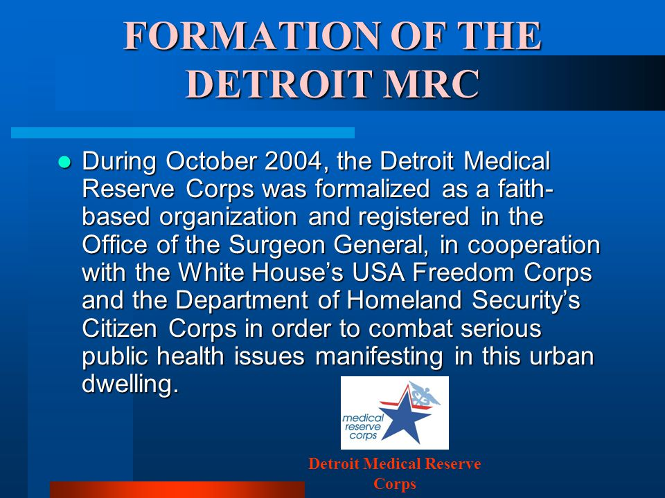 DETROIT MRC MISSION A lack of communication exists between patients and physicians.