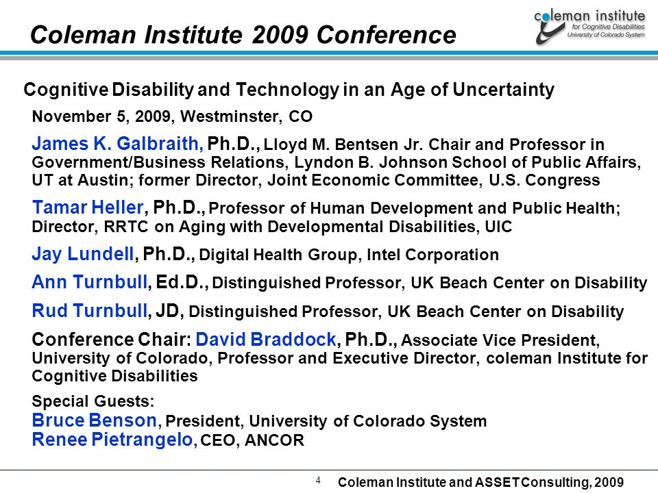 5 Coleman Institute and ASSET Consulting, 2009 Why Use Technology In Residential Care U.S.