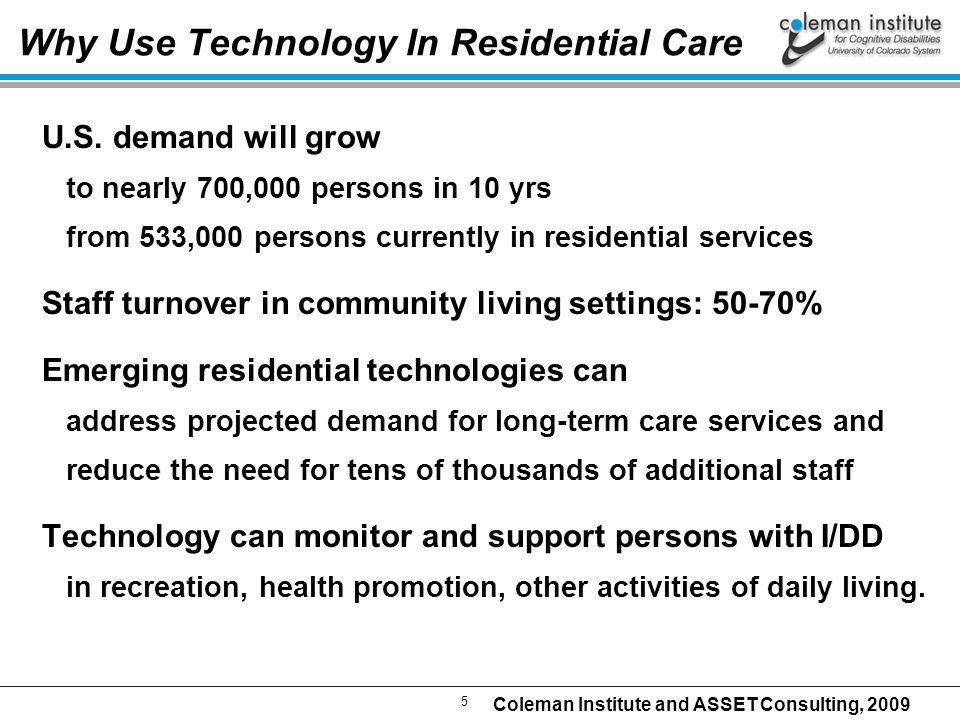 26 Coleman Institute and ASSET Consulting, 2009 Charles Smarthome Technology for Staff MedSupport  Medication administration prompting and records  from Imagine.