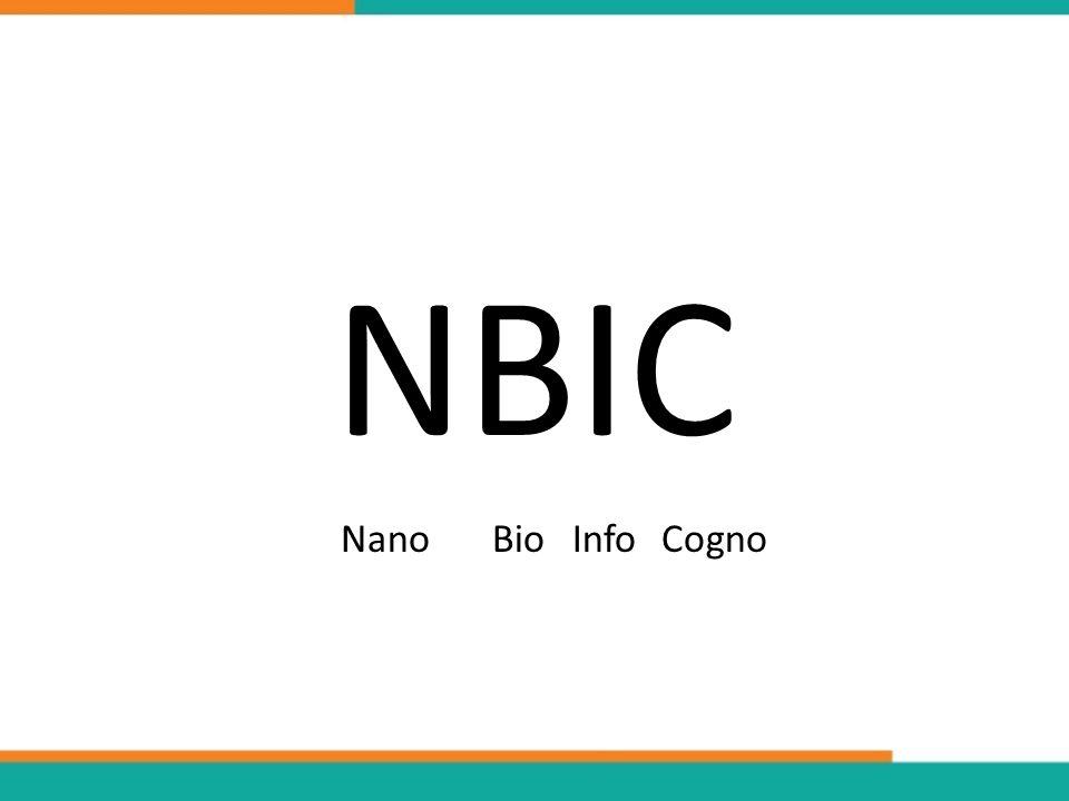 NBIC NanoBioInfoCogno