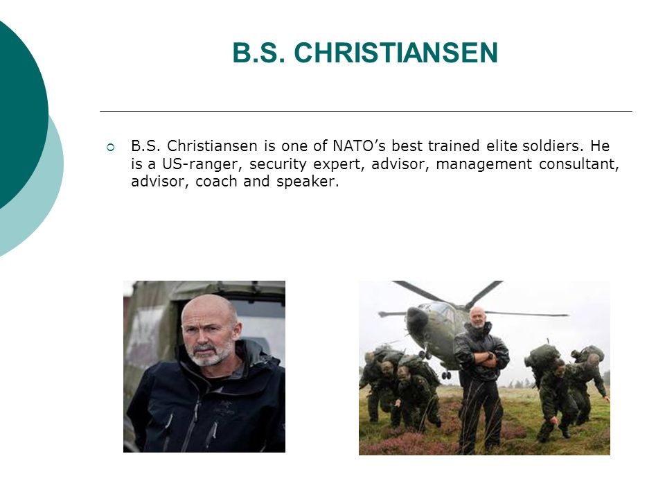 BS og Basserne  Through the programs BS and Basserne we meet 24 Danish young men and women, all of which have been discarded from the army, because they are in lousy physical shape and extremely overweight.