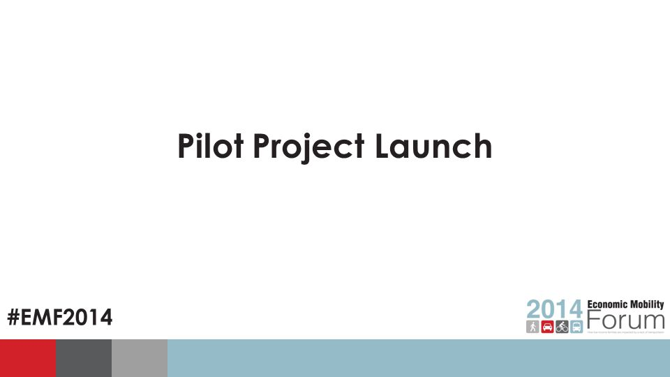#EMF2014 Pilot Project Launch