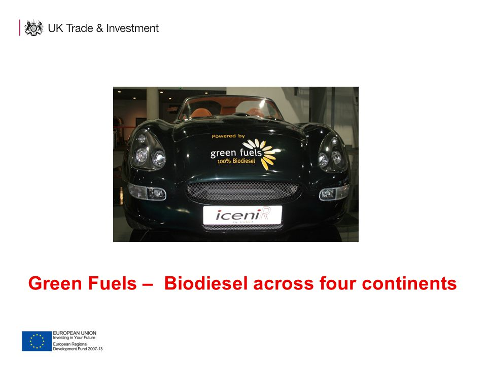 Green Fuels – Biodiesel across four continents