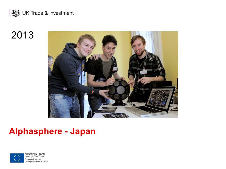2013 Alphasphere - Japan