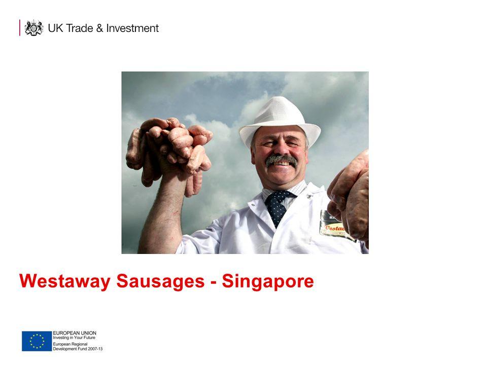 Westaway Sausages - Singapore