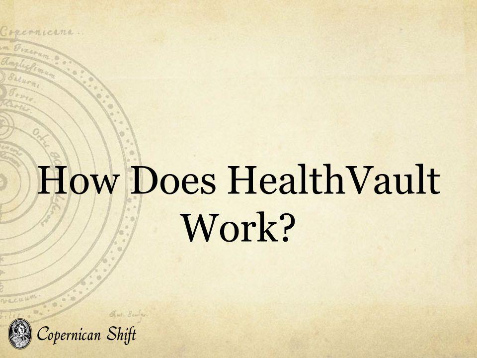 How Does HealthVault Work