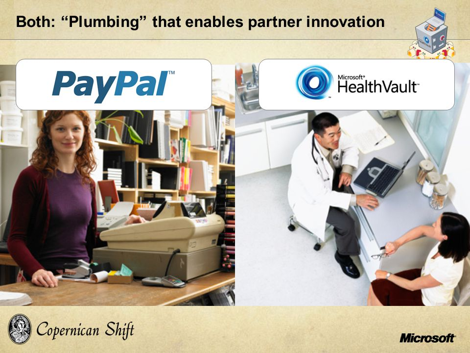 "Both: ""Plumbing"" that enables partner innovation"
