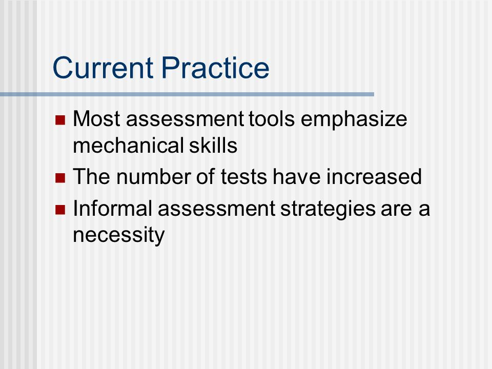 Strategies for Assessing Spelling Broad Range Achievement Tests WRAT–3 uses recall tasks PIAT–R/NU uses recognition tasks Woodcock-Johnson III uses both recall (spelling) and recognition (editing)