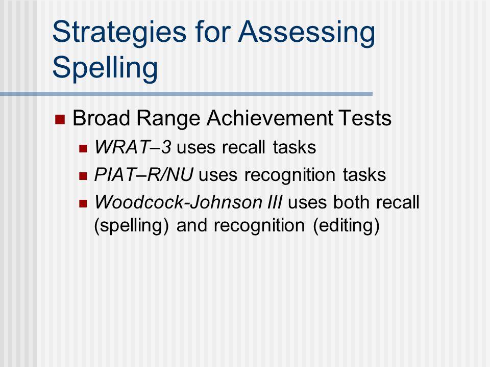 Test of Written Spelling–4 (TWS–4)
