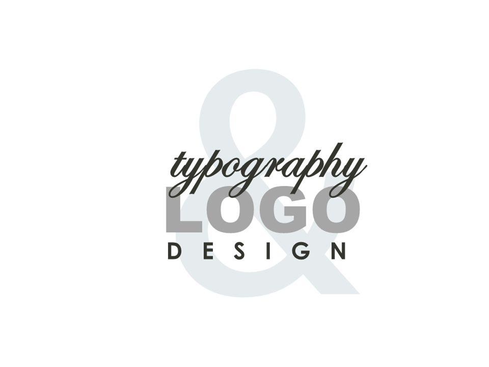 & LOGO D E S I G N typography