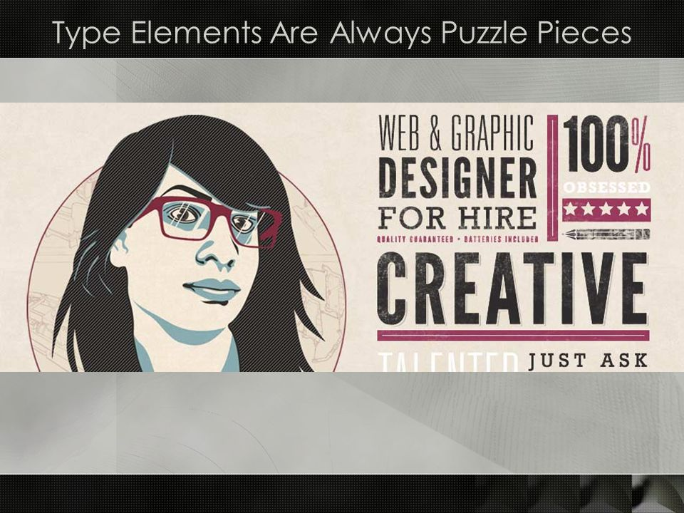Type Elements Are Always Puzzle Pieces