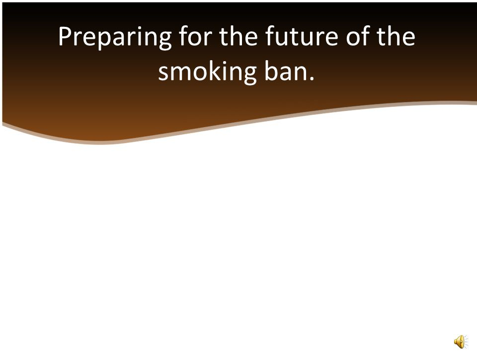 Currently federal law prohibits smoking in public buildings.