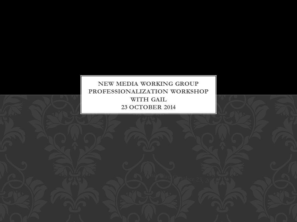 Thursday, October 23, 2014