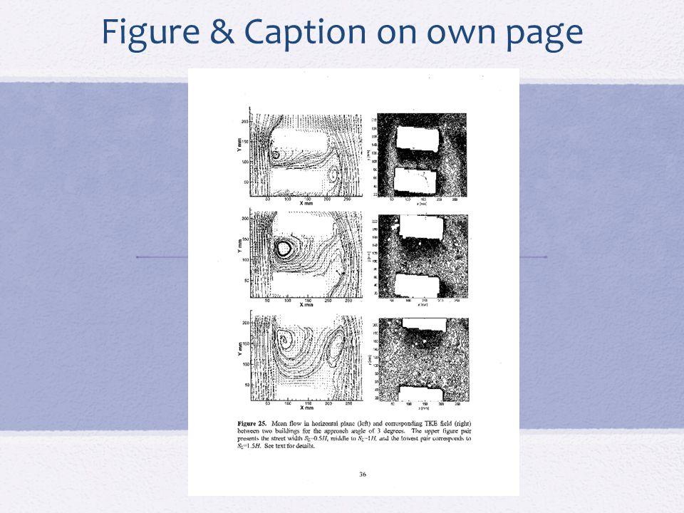 Landscape Table & Caption Page number must be portrait style