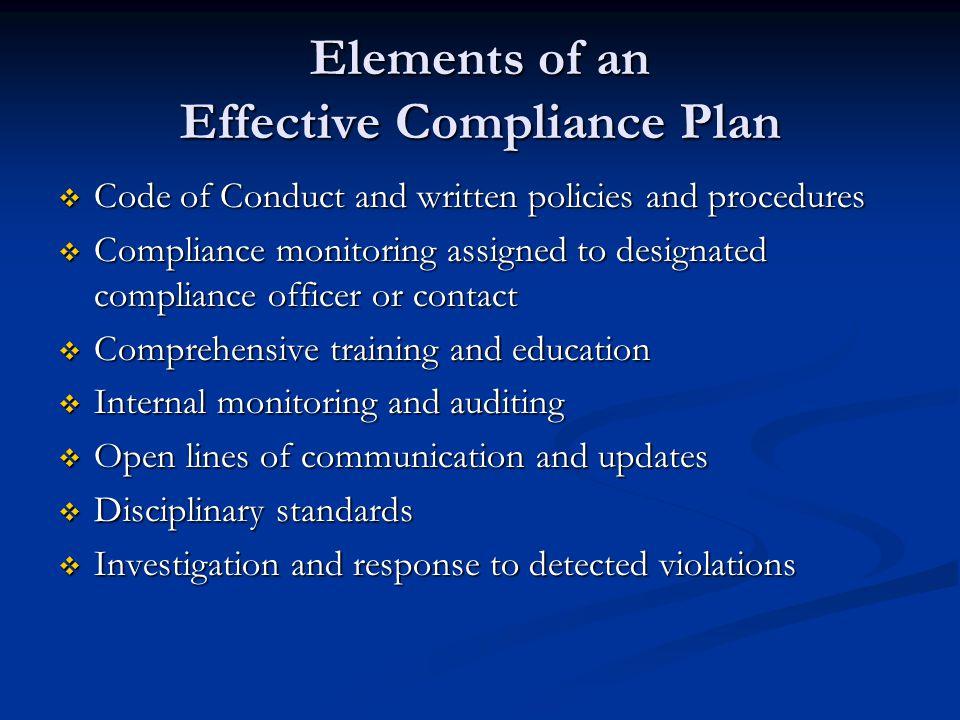 6.Internal Investigations What triggers an internal investigation.