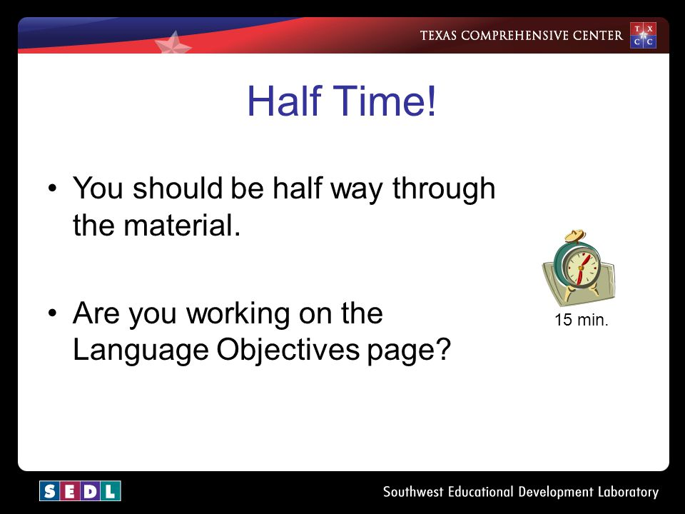 What Can A Mathematics Teacher Do? 20 min. Are you using the resources provided?
